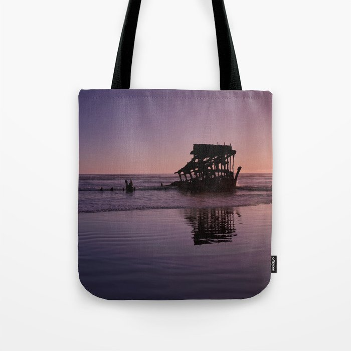 Peter Iredale Shipwreck at Fort Stevens State Park, Oregon. 2 Tote Bag