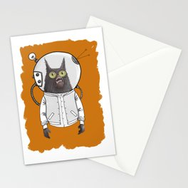 urban space cat Stationery Cards
