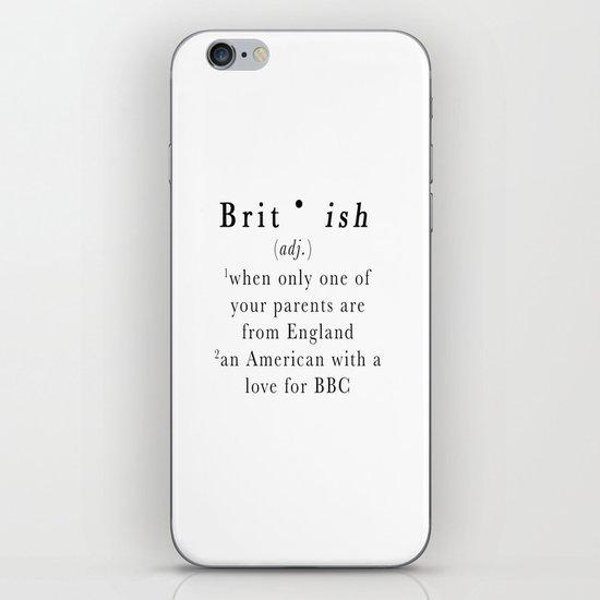 Brit(ish) iPhone & iPod Skin