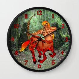Centauress Knot Wall Clock