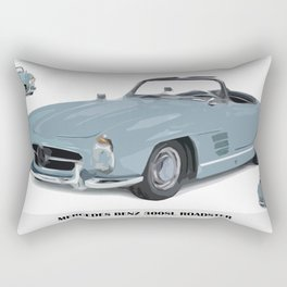 Classic 300SL vintage car Rectangular Pillow