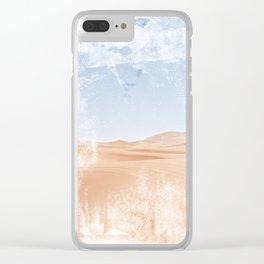 Hidden Desert - Pastel Photo Clear iPhone Case