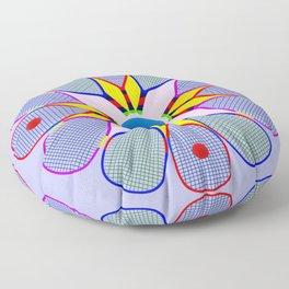 Racquetball Design version 2 Floor Pillow