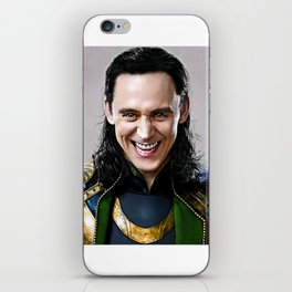 Loki -There Are No Men Like Me XVI iPhone Skin