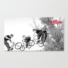 Offline I Canvas Print
