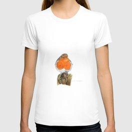 English Robin by Teresa Thompson T-shirt