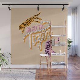Go Get 'Em Tiger – Melon Wall Mural