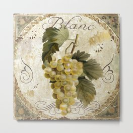 Tuscan Table Blanc Metal Print