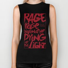 Rage Against the Dying of the Light 2 Biker Tank