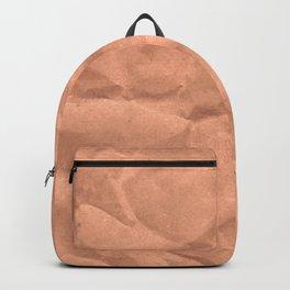 Kraft paper. crumpled paper Backpack
