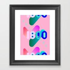 1800 Framed Art Print