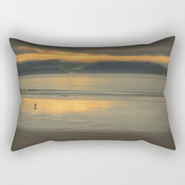 Walking Towards The Light Rectangular Pillow