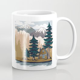 Summer cabin Coffee Mug