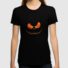 Jack Skellington Halloween Smile Flame T-shirt