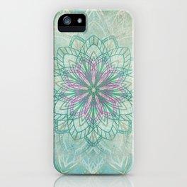 Mermaid Mandala iPhone Case