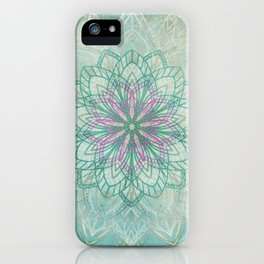 Mermaid Mandala iPhone Case