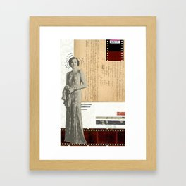 Film Diva Framed Art Print