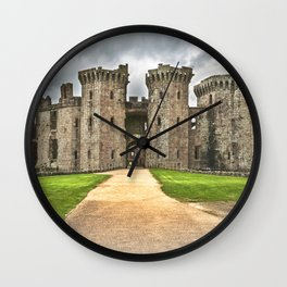 Gateway To The Castle Wall Clock