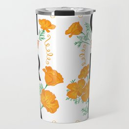 California Knows How To Poppy Travel Mug