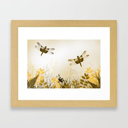 Dragonflies Framed Art Print