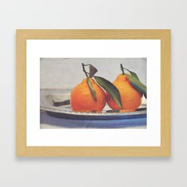 Clementines 4 Framed Art Print