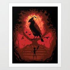 The Bird King Art Print