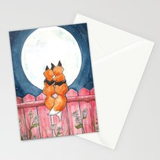 Fox Sweethearts Stationery Cards