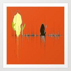 Abstracts Tango Art Print
