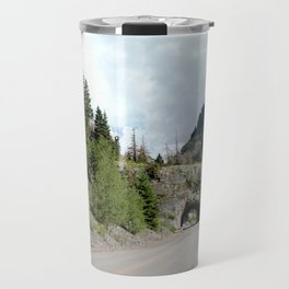Driving the Spectacular, but Perilous Uncompahgre Gorge, No. 5 of 6 Travel Mug