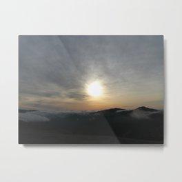 Behold, sunset Metal Print
