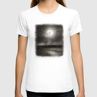 the moon T-shirts featuring Moon by Viviana Gonzalez