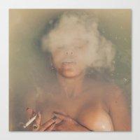 bath Canvas Prints featuring Bath by Luke Gram