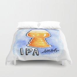 IPA Snob Duvet Cover