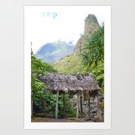 Ioa Valley, Maui Art Print