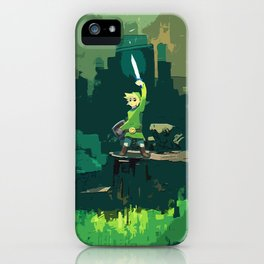 Legend Of Zelda Link Painting Art iPhone Case
