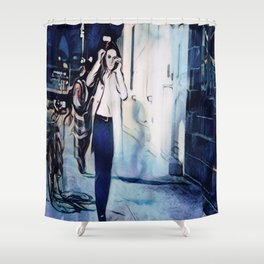 Every Twisted Little Flower Shower Curtain