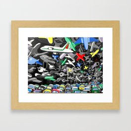 Osservatorio federiciano Framed Art Print