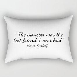 BORIS KARLOFF Rectangular Pillow
