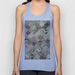 Abstract Geometric Background #25 Unisex Tank Top