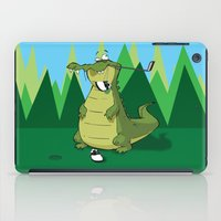 golf iPad Cases featuring Golf  by Tony Vazquez