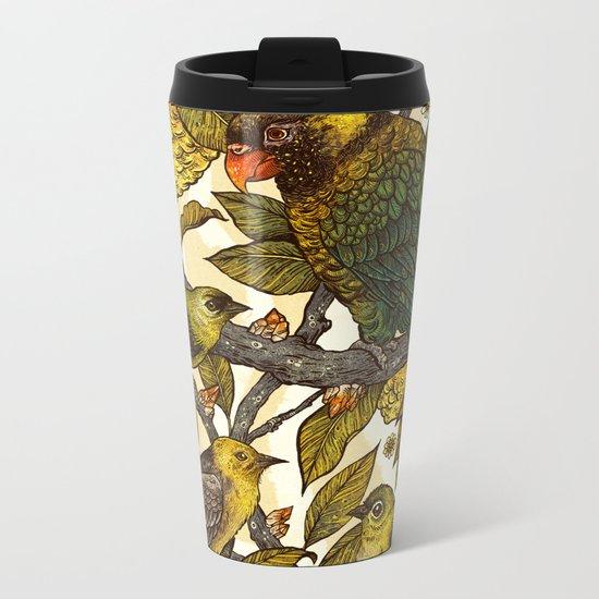 Citrine Metal Travel Mug
