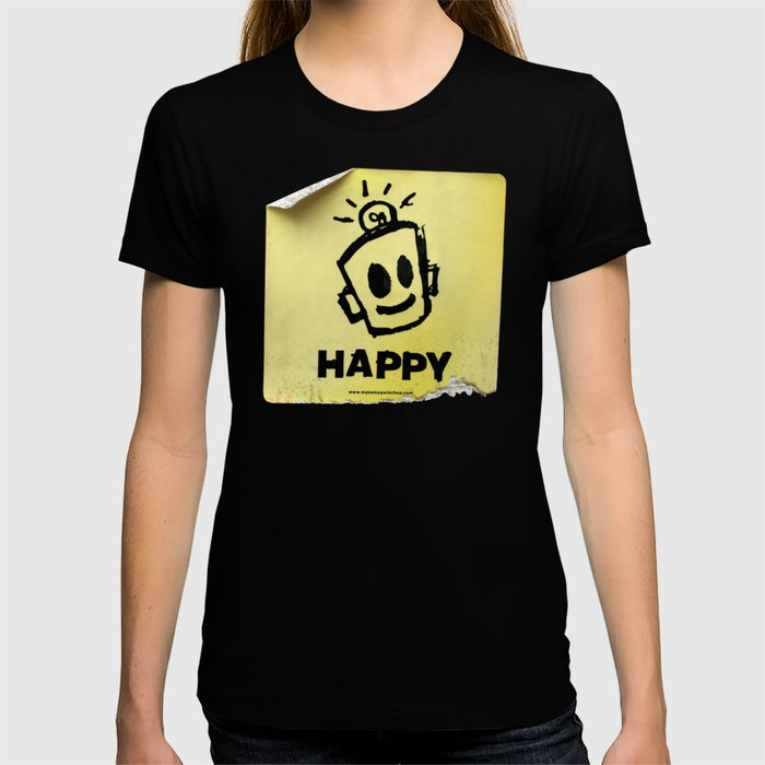The Happy Sticker T-shirt