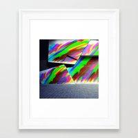 graffiti Framed Art Prints featuring Graffiti by MehrFarbeimLeben