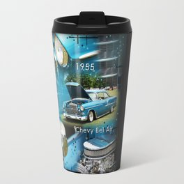 1955 Chevy Bel Air Travel Mug