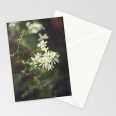 autumn white Stationery Cards