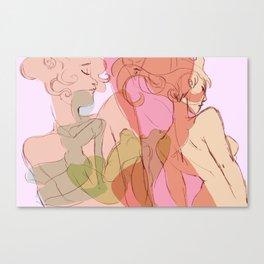 April Love Canvas Print