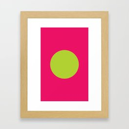 Neon Nation JAPAN Framed Art Print