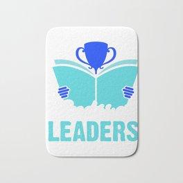 Readers are leaders Bath Mat