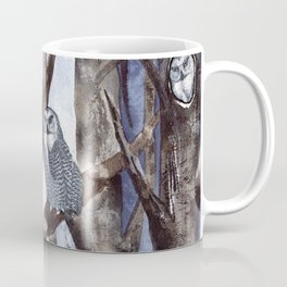 Night Owls by Maureen Donovan Coffee Mug