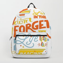 Men_s_T-ShirtLife_is_a_Game Backpack